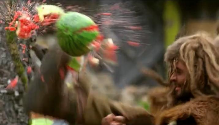 Gyan Dookie & the watermelon kick in Olli Saarela's movie Rollo and the Spirit of the Woods (Rölli ja metsänhenki)